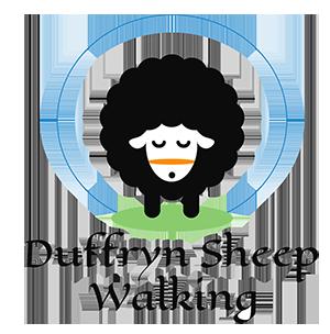 Duffryn Sheep Walking logo